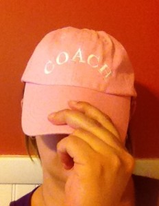 Thanks Mom and Dad for the hat!